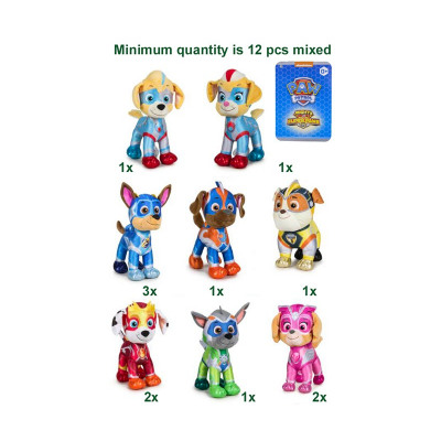 Paw Patrol Super Paws Mighty Pups S3 8 assorted 27