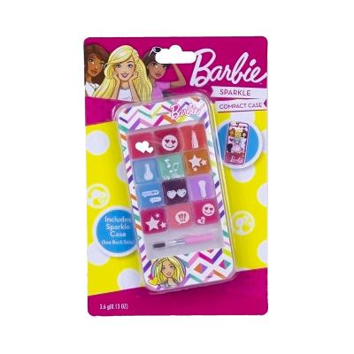 Barbie Lipgloss Set Sparkle Phone 7x14cm