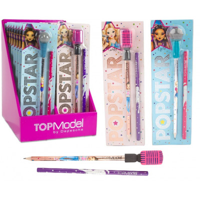 Depesche Top Model Popstar Pencil with Microphone