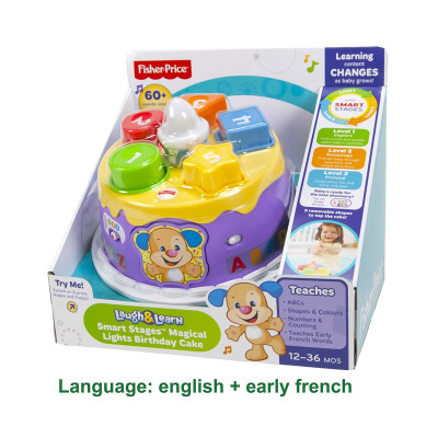 Fisher Price Laugh & Learn Lights Birthday Cak