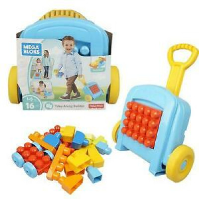 Fisher-Price Mega Bloks 16 pieces in trolley case