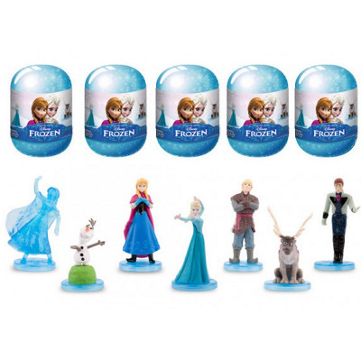Blind Bag Disneyfrozen collective figures in capsu