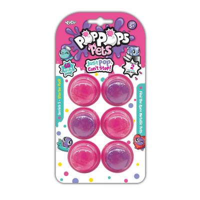 Poppops Pets 6-Pack 10x19cm