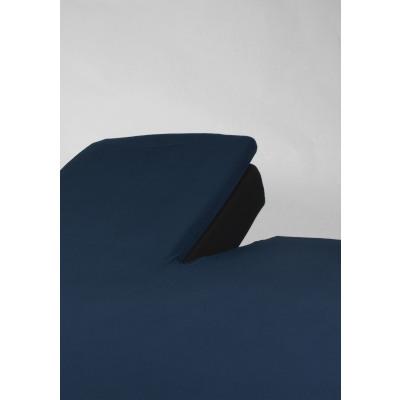 hoeslaken splittopper jersey marineblauw 15 cm hoe