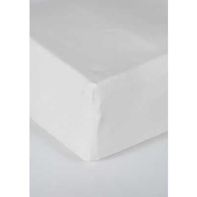 hoeslaken jersey matras wit 35 cm hoekhoogte, 80/9