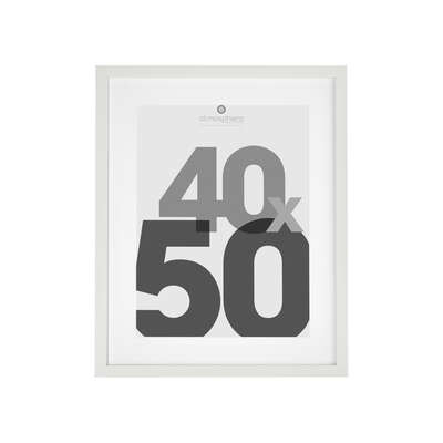 40x50 white photo frame, white from wholesale and import