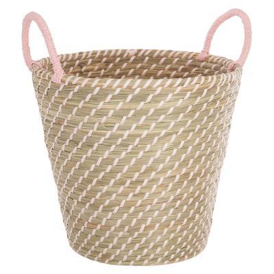 Basket Seagr Pink Plate 2 Times Orted Sink