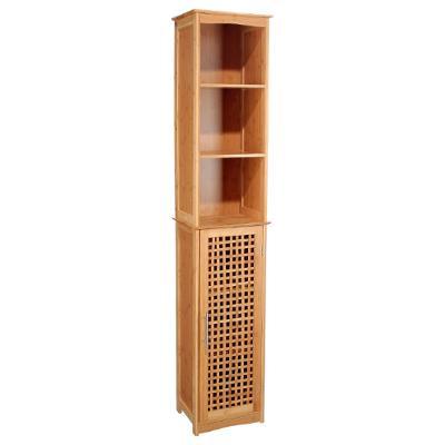 Säulenschrank dreckiges Badezimmer Bambus, beige aus Großhandel und ...