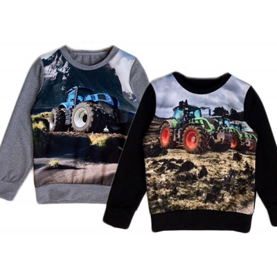 Kids boys sweater tractor farmer farmer sweater from wholesale and