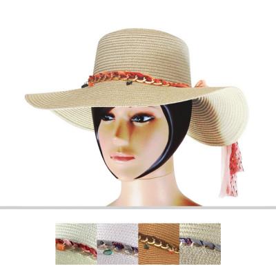 Chapeaux de dames CM-21 Mix Colors 6 pièces