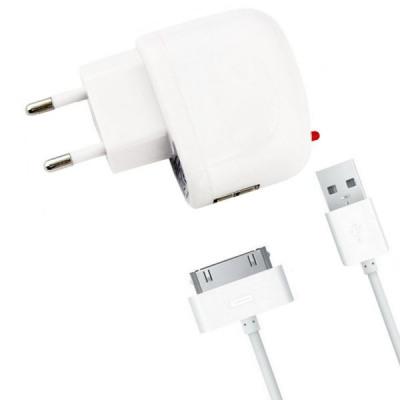 Chargeur de voyage pour Apple iPad, Iphone et iPod
