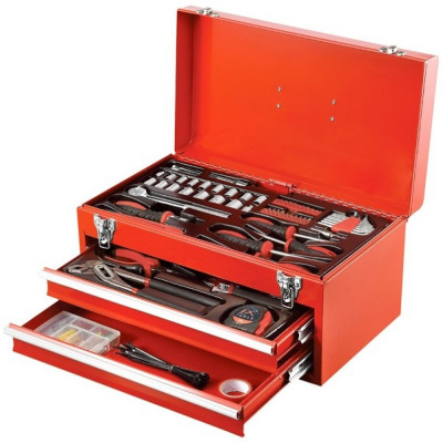 Tool box filled - 196 parts