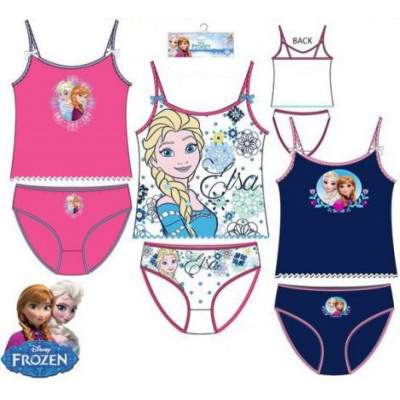 0f884aa730dc Shirt, panties sets Disney Frozen, Frozen 2-8 year from wholesale and import