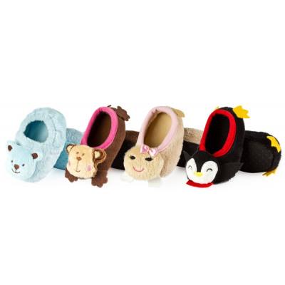 SOXO Kinder Hausschuhe Ballerinas Haustiere