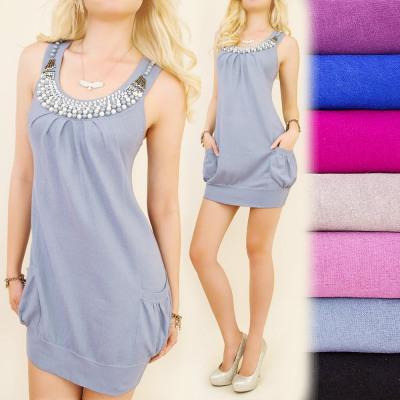 04beedaa92 C17180 Női tunika, ruha, gyöngy nyaklánc nagyker és import