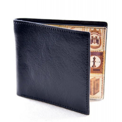 Vintage Men s Wallet Leather black FREE Sack from wholesale and import f88a80a826cf1