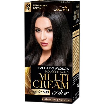 黒檀の黒髪の色