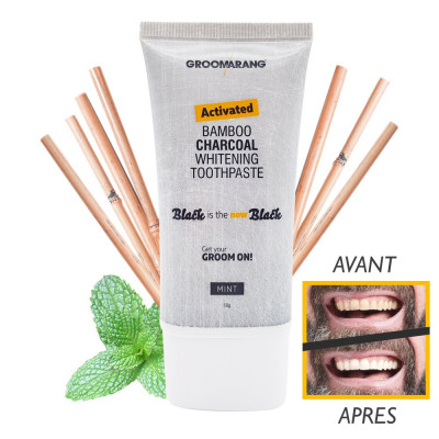 groomarang black bamboo charcoal toothpaste from wholesale and import