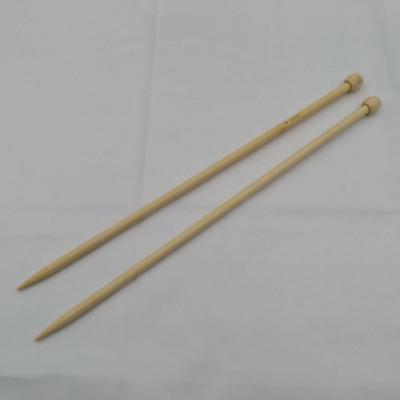 2 bamboebreinaalden 8mm 36cm