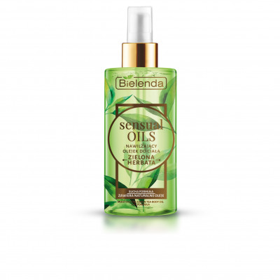 Sensual Oils Body Oil Green Tea 150ml From Wholesale And Import