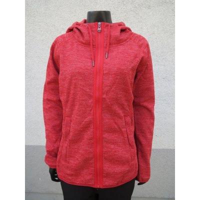 Ladies fleece jacket structured