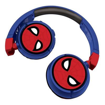 Spiderman Cuffie pieghevoli Bluetooth e cablate