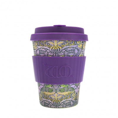 Ecoffee Cup Bamboo Cup - 340 ml William Morris P