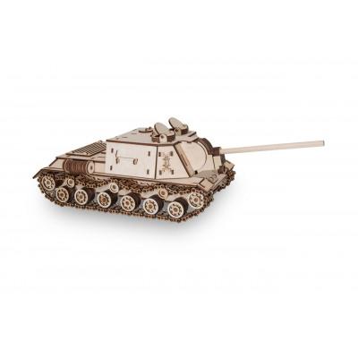Eco-Wood-Art Tank ISPY 152 - Wooden Model Building