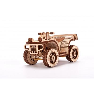 Wood Trick ATV, Wooden Model Building