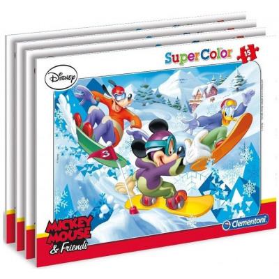 Disney Mickey egér Puzzle Window 15 db vegyes 4