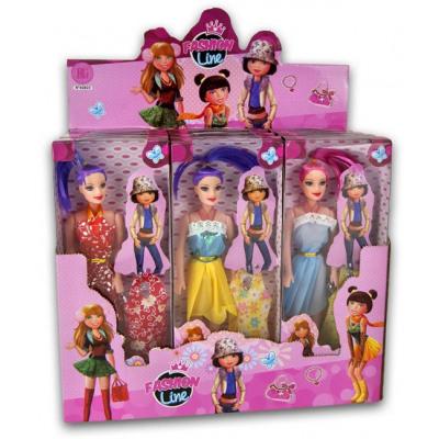 Pop 27cm Fashion with accessories 6 assorti in dis