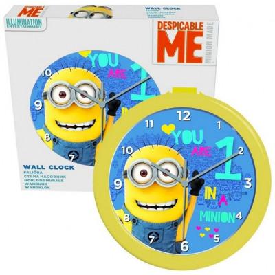 Minions wall clock 24cm