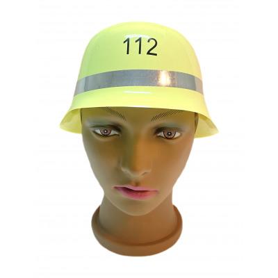 Firefighter's Helmet, PB, approx 26x23x14cm
