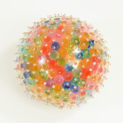 Flutschi-Ball XXL, Rainbow, with colorful Waterbea from