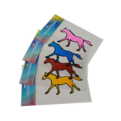 Gel-Adhesive-horses, 4 motifs in 4 different from wholesale and import