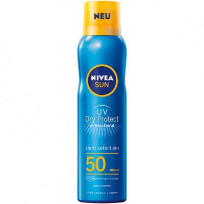 Nivea Sun Spray 200ml védelem és frissítés SPF50