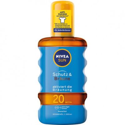 Nivea Sun Spray 200ml védő és bronz napolaj