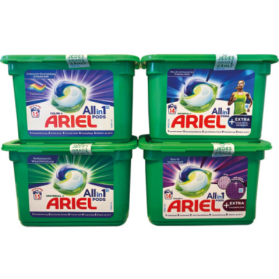 Ariel Pods 3in1 14 / 15WL mixed box of 12