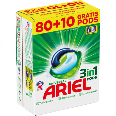 Ariel Pods 3in1 90WL Colorwaschmittel