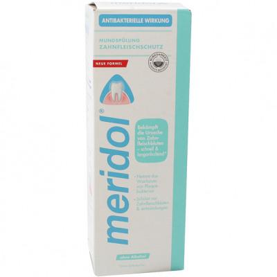 Meridol mouthwash 400ml without alcohol