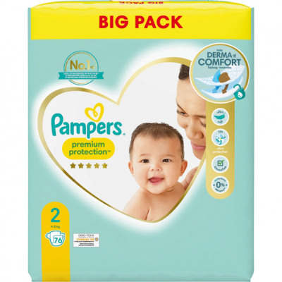 Pampers Premium Protection New Baby Size 2 Mini 8