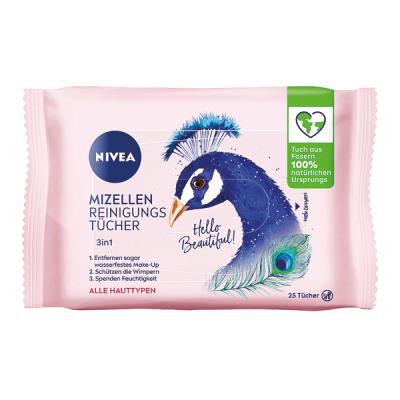Nivea Visage Facial Cleansing Wipes 25er Mizel