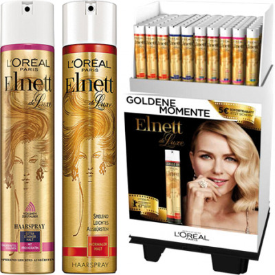 Elnett hair spray 300ml 70s Display