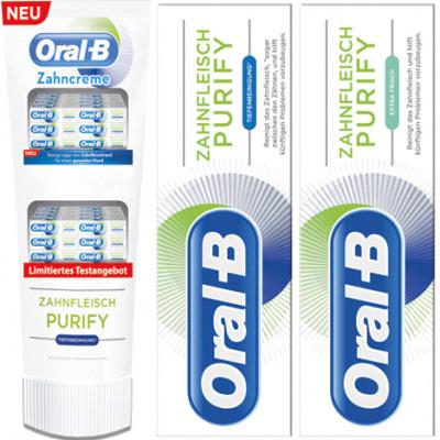 oral b zahnfleisch purify
