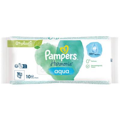 Pampers nedves törlőkendők Aqua 45x12