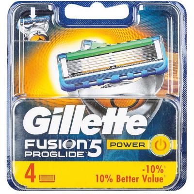 Gillette Fusion Power ProGlide 4 pengék