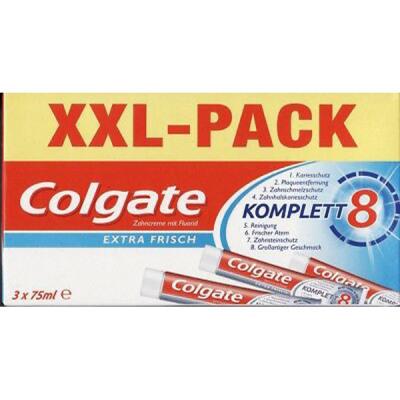 Fogkrém Colgate 3x75ml Complete Extra Fresh