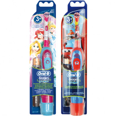 Oral B Toothbrush Stages Power