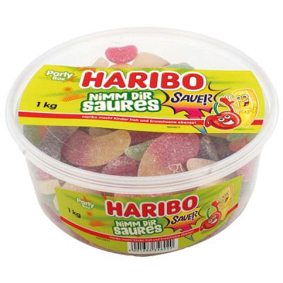 Food Haribo Runddose stosowanie kwasu 1kg