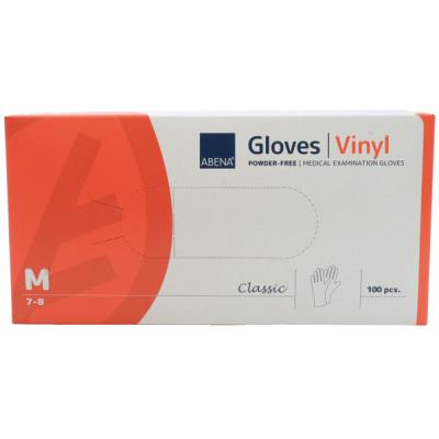 Monouso guanti in vinile taglia M 100 in più sotti